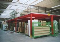 Regalaufbau, Regalmontage, Lagerbühne
